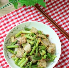 青蒜苗炒回锅肉
