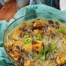 微波油豆腐粉丝汤#美的微波炉#的做法