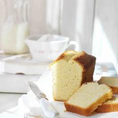 香草杏仁磅蛋糕