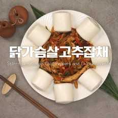 鸡胸肉辣椒杂菜