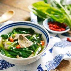 青菜猪肝汤