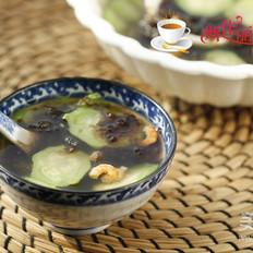 虾仁紫菜丝瓜汤