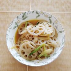 菜籽油炒藕片