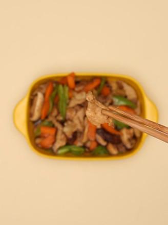 香菇炒肉的做法