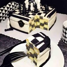 翻糖一一国际象棋蛋糕