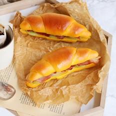 南瓜牛角汉堡