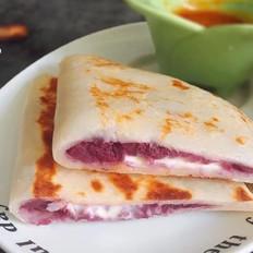 紫薯奶酪软馅饼