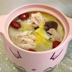 清香椰汁鸡汤
