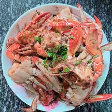十三香麻辣梭子蟹