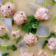 冬瓜豆腐丸子汤