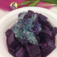 紫薯炖燕窝