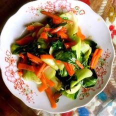 青菜烧的做法