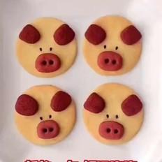紅紅火火立體小紅豬餅干