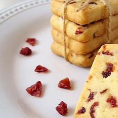 蔓越莓黄油饼干