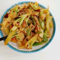 干锅有机花菜~