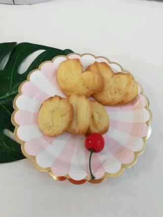 淡奶油版曲奇饼干的做法