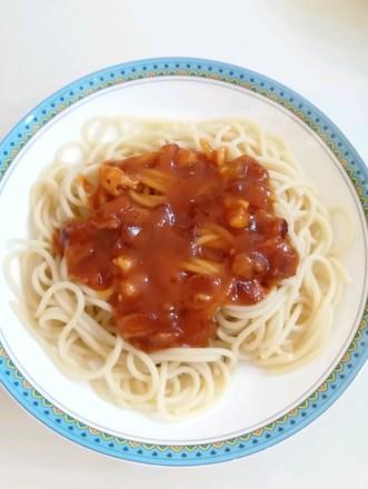 培根肉酱意大利面的做法