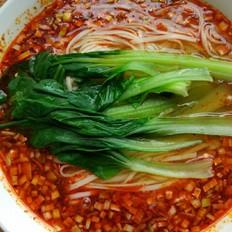 红油酸汤面