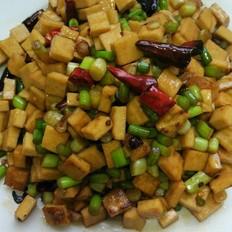 蒜苔炒干子