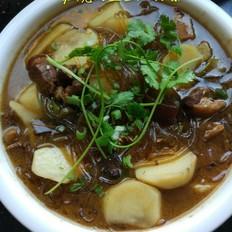 红烧肉土豆炖粉条