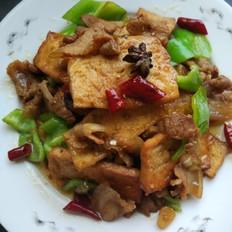 花肉烧豆腐