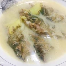 石九公鱼汤的做法