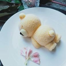 网红芒果味慕斯冰淇淋趴趴熊