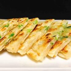 酥脆香葱小饼(饺子皮版)