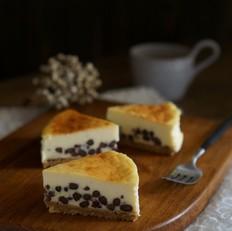 蜜豆芝士蛋糕