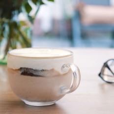 芝士奶盖冰咖啡