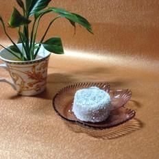 椰丝绿豆糕