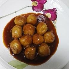 蚝油豆渣糯米丸