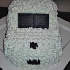 简易版汽车生日蛋糕的做法