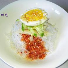 韩式辣酱拌粉丝的做法