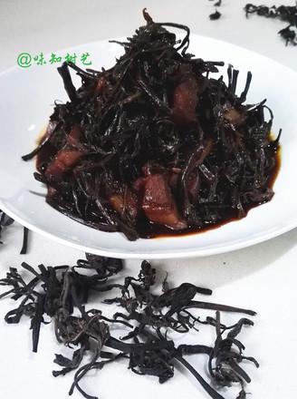 香椿头烧肉的做法