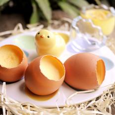 原壳鸡蛋布丁