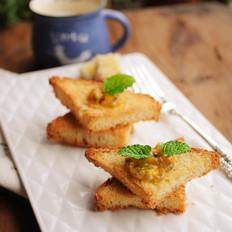 百香果蜂蜜面包干