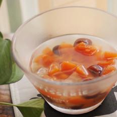 红枣雪梨炖木瓜