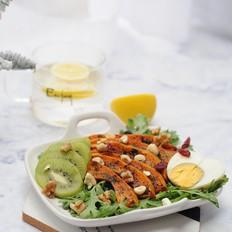 烤南瓜蔬果沙拉