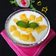 大果粒芒果酸奶