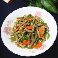 鸭脯炒青椒