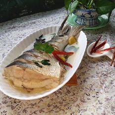 薄荷叶炖鱼