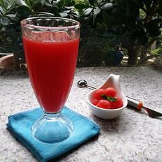 冰镇西瓜汁
