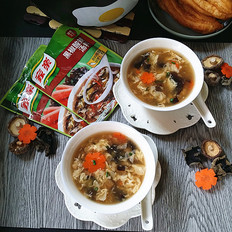 香菇黑椒酸辣汤