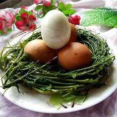 荠菜花煮鸡蛋
