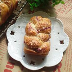 紫薯椰蓉辫子小包