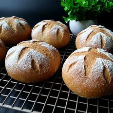 豆渣软欧面包(免揉素油)