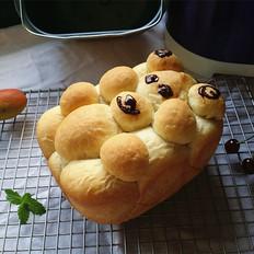 呆萌熊面包