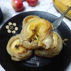 花生酱香蕉酥 甜蜜一口