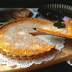 椰香奶酪南瓜派